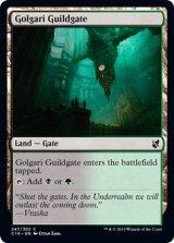 ゴルガリのギルド門/Golgari Guildgate 【英語版】 [C19-土地C]《状態:NM》
