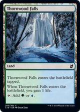 茨森の滝/Thornwood Falls 【英語版】 [C19-土地C]《状態:NM》