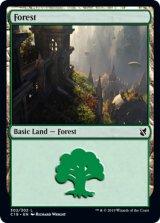 森/Forest No.302 【英語版】 [C19-土地C]《状態:NM》