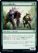 ガラクの群れ率い/Garruk's Packleader 【日本語版】 [C19-緑U]