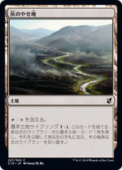 画像1: 灰のやせ地/Ash Barrens 【日本語版】 [C19-土地C]