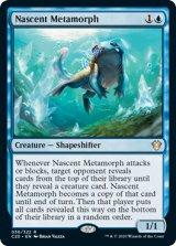 初期変化/Nascent Metamorph 【英語版】 [C20-青R]《状態:NM》