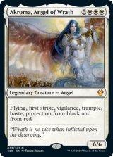 怒りの天使アクローマ/Akroma, Angel of Wrath 【英語版】 [C20-白MR]《状態:NM》