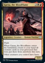 血の炎、ガルナ/Garna, the Bloodflame 【英語版】 [C20-金U]