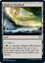 荒廃した森林/Blighted Woodland 【英語版】 [C20-土地U]《状態:NM》
