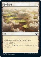 漂う牧草地/Drifting Meadow 【日本語版】 [C20-土地C]《状態:NM》