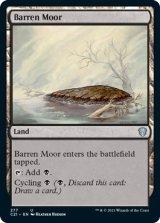 やせた原野/Barren Moor 【英語版】 [C21-土地U]