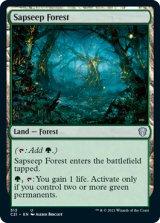 樹液染みの森/Sapseep Forest 【英語版】 [C21-土地U]