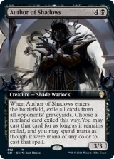 影の執筆者/Author of Shadows (拡張アート版) 【英語版】 [C21-黒R]