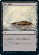 やせた原野/Barren Moor 【日本語版】 [C21-土地U]