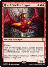 蔵製錬のドラゴン/Hoard-Smelter Dragon 【英語版】 [CM2-赤R]