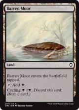 やせた原野/Barren Moor 【英語版】 [CM2-土地C]