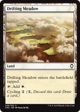 漂う牧草地/Drifting Meadow 【英語版】 [CM2-土地C]