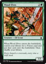 ウッド・エルフ/Wood Elves 【英語版】[CMA-緑C]