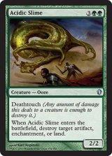 酸のスライム/Acidic Slime 【英語版】 [C13-緑U]