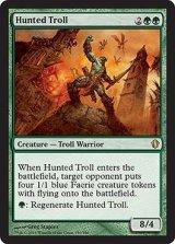 狩り立てられたトロール/Hunted Troll 【英語版】 [C13-緑R]