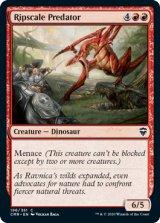 鱗剥ぎの捕食者/Ripscale Predator 【英語版】 [CMR-赤C]
