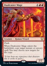 二重詠唱の魔道士/Dualcaster Mage 【英語版】 [CMR-赤R]