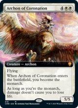 戴冠のアルコン/Archon of Coronation (拡張アート版) 【英語版】 [CMR-白MR]