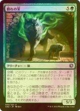 [FOIL] 群れの牙/Fang of the Pack 【日本語版】 [CN2-緑U]