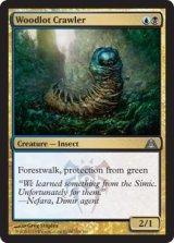 植林地を這うもの/Woodlot Crawler 【英語版】 [DGM-金U]《状態:NM》