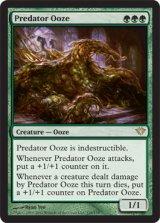 捕食者のウーズ/Predator Ooze 【英語版】 [DKA-緑R]《状態:NM》