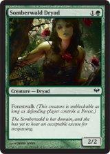 ソンバーワルドのドライアド/Somberwald Dryad 【英語版】 [DKA-緑C]