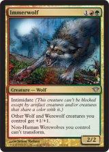 常なる狼/Immerwolf 【英語版】 [DKA-金U]《状態:NM》