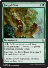 菌類の勢力範囲/Fungal Plots 【英語版】 [DOM-緑U]