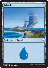 島/Island No.255 【英語版】 [DOM-土地C]《状態:NM》