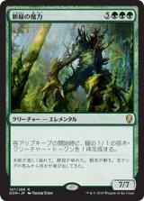 新緑の魔力/Verdant Force 【日本語版】  [DOM-緑R]《状態:NM》