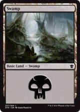 沼/Swamp No.257【英語版】 [DTK-土地]《状態:NM》