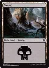 沼/Swamp No.258【英語版】 [DTK-土地]《状態:NM》