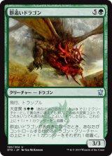 群追いドラゴン/Herdchaser Dragon 【日本語版】 [DTK-緑U]《状態:NM》
