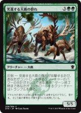突進する大鹿の群れ/Stampeding Elk Herd 【日本語版】 [DTK-緑C]