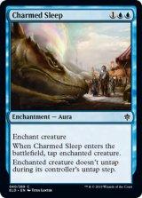 魔法の眠り/Charmed Sleep 【英語版】 [ELD-青C]《状態:NM》