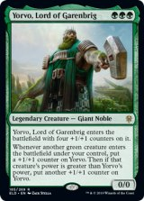 ギャレンブリグの領主、ヨルヴォ/Yorvo, Lord of Garenbrig 【英語版】 [ELD-緑R]《状態:NM》
