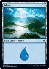 島/Island No.254 【英語版】 [ELD-土地C]《状態:NM》