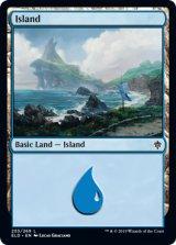 島/Island No.255 【英語版】 [ELD-土地C]《状態:NM》
