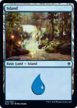 島/Island No.256 【英語版】 [ELD-土地C]《状態:NM》