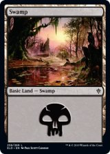 沼/Swamp No.258 【英語版】 [ELD-土地C]《状態:NM》