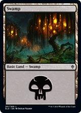沼/Swamp No.261 【英語版】 [ELD-土地C]《状態:NM》