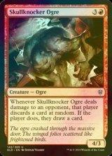 [FOIL] 頭蓋叩きのオーガ/Skullknocker Ogre 【英語版】 [ELD-赤U]《状態:NM》