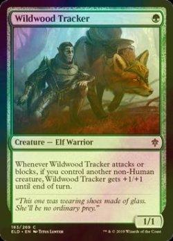 画像1: [FOIL] 僻森の追跡者/Wildwood Tracker 【英語版】 [ELD-緑C]