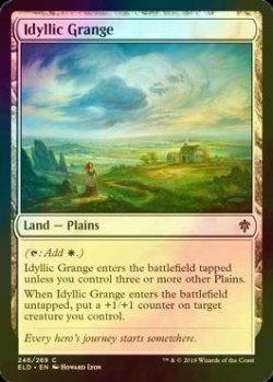 画像1: [FOIL] のどかな農場/Idyllic Grange 【英語版】 [ELD-土地C]
