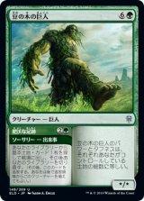豆の木の巨人/Beanstalk Giant 【日本語版】 [ELD-緑U]《状態:NM》