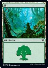 森/Forest No.266 【日本語版】 [ELD-土地C]《状態:NM》