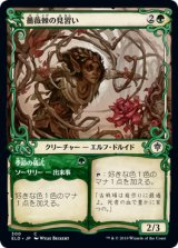 薔薇棘の見習い/Rosethorn Acolyte (ショーケース版) 【日本語版】 [ELD-緑C]