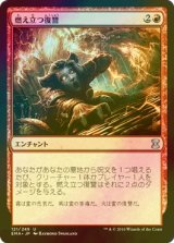 [FOIL] 燃え立つ復讐/Burning Vengeance 【日本語版】 [EMA-赤U]