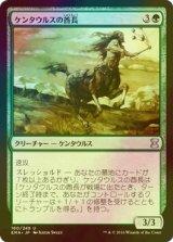 [FOIL] ケンタウルスの酋長/Centaur Chieftain 【日本語版】 [EMA-緑U]